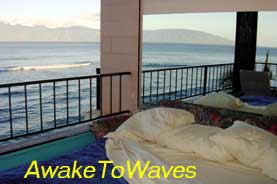 Maui oceanfront condo rentals home page